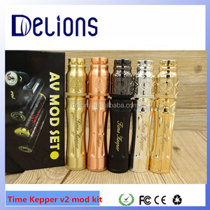 New arrival hotest selling!SS/black/gold/brass/copper timekeeper mod v2 1:1 nice clone time keeper v2 mod kit from Delions tech