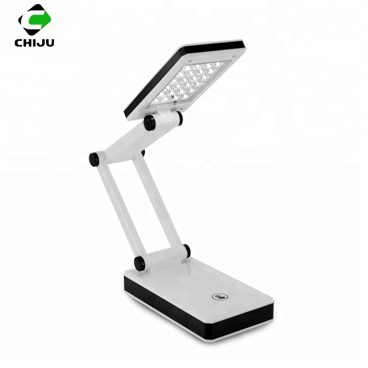 Modern sensitive touch control dimmable USB rechargeable reading light portable folding LED table desk <strong>lamp</strong>