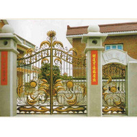 sample of beautiful house entrance iron gate designs pictures