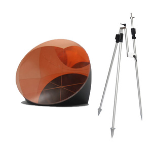 High-precision K9 optical glass surveying instrument instrument pyramid prism available