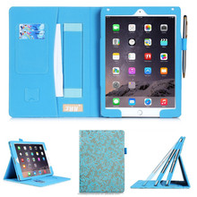 China wholesale leather tablet cover for ipad 6