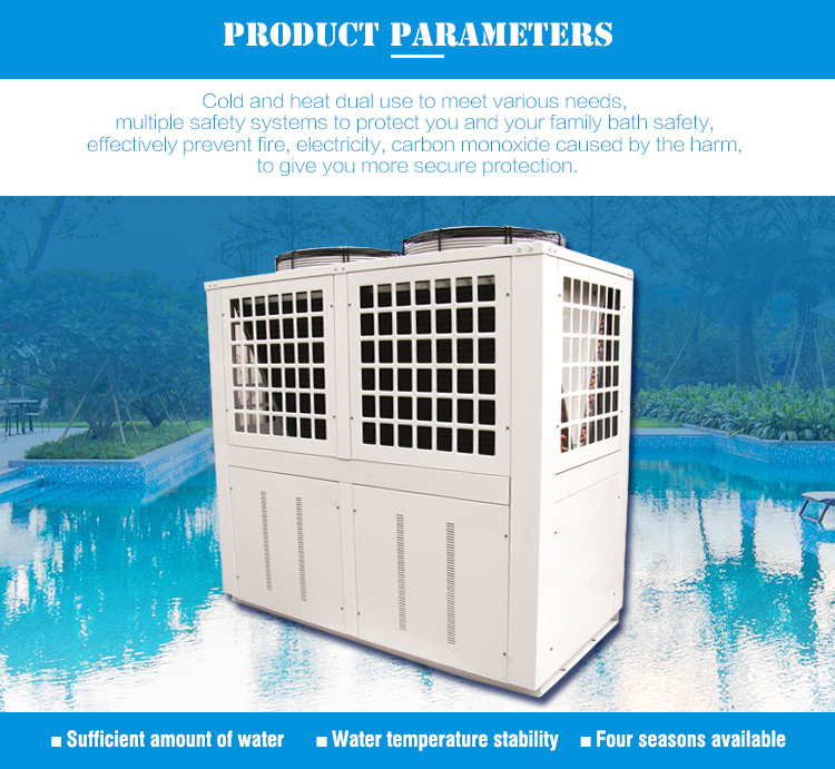 New Energy Technology Inground 220V Commerical Heat Pump Of Swimming Pool