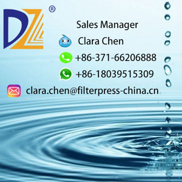 Dazhang Filter Press Chamber Filter Plate