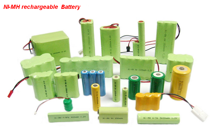 Reachargeable NIMH AA Battery Pack 6V NIMH Battery with 1500MAH