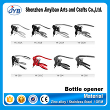 Hot selling various novelty rabbit head wine corkscrew cheap wine opener