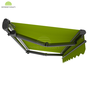 Aluminium Open Folding Arm Awning