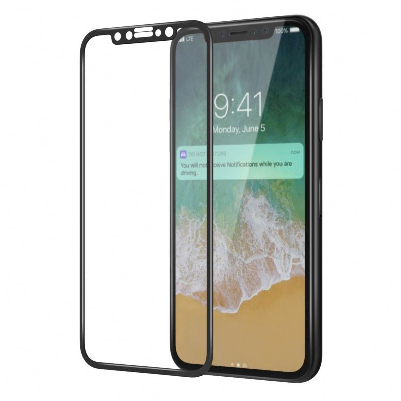 Hot Sale Wholesale Price Custom 3D Full Cover Anti Scratch Smartphone Tempered Glass Screen Protector For Iphone X