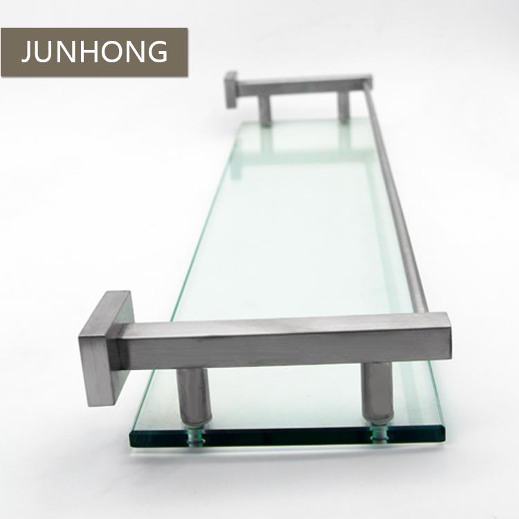 304 stainless steel floating bathroom glass shelf brackets buy rh alibaba com diy floating glass shelf brackets