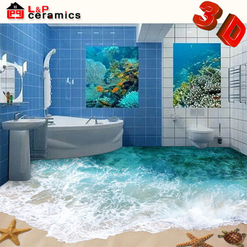 bottom price ce quality standard glass and porcelain bathroom tile