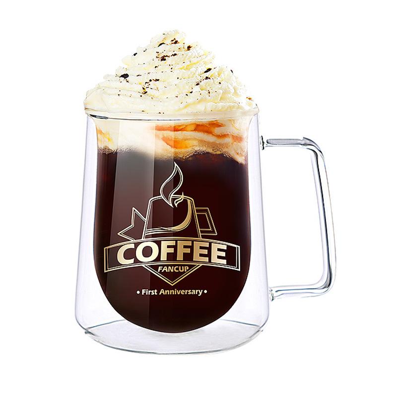 Premium Quality Thermo Insulated Borosilicate Glass Cup Espresso Cappuccino Cups or Latte Glasses фото