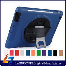 rotating 360 degree For iPad 2 Case With Handle smart case factory price