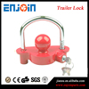 1-7/8'', 2'' and 2-5/16'' all purpose tiny low bed truck trailer hitch lock