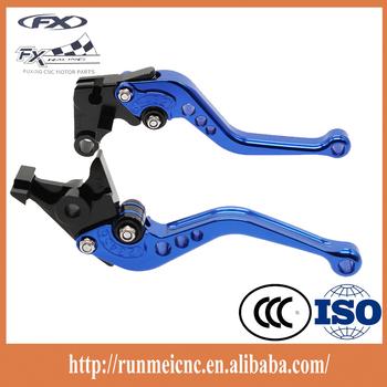 M002-41-f12/h33 Blue Black Motorcye Part Hand Brake Clutch Lever ...