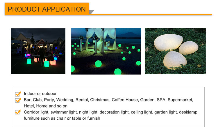 illuminated Wedding Event outdoor bar chair/bar used PE plastic furniture led light up sofa tables chairs