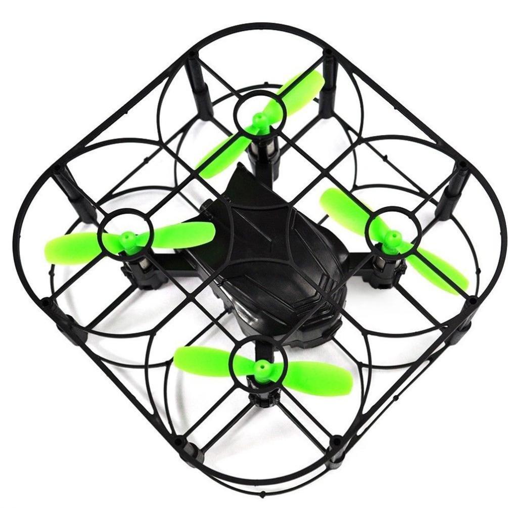 Mini Helic Max 1706A RC Drone, 2.4GHz 4CH 6-AXIS GYRO RC Quadcopter, Little Mini RTF Remote Control Aircraft, Air Press Altitude Hold, Headless Mode One Key Return RC Toy, Black