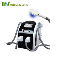 Salon professional hair removal IPL SHR machine/IPL SHR OPT hair removal device