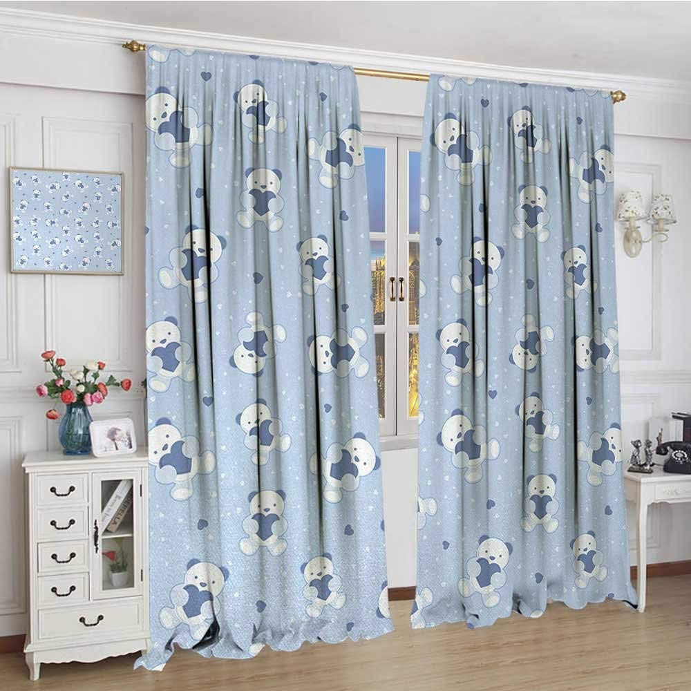 Blue Baby Curtains Find Deals On