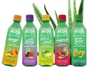 AloeCure, Aloe Vera juice and Beverage Sugar free 500ml, fresh aloe vera juice, herbal drink