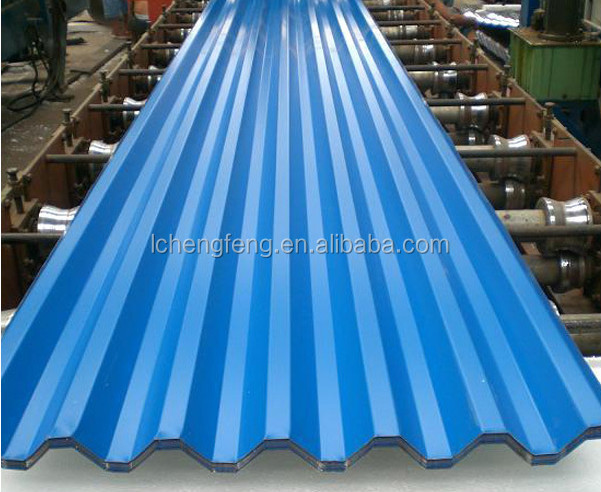 26gague Color Trapezoidal Roofing Sheet /29 Gauge Plain Galvanized Roof  Sheet/metal Roof Tile/tough Rib   Buy Color Roof Sheet,Galvanized Roof  Sheet,Metal ...