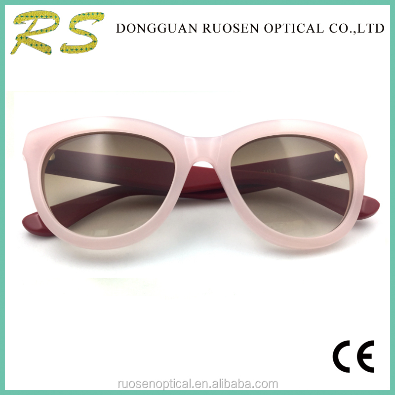 Newest hdcrafter acetate sunglasses pink sunglasses women 2017 cat 3 polarized sunglasses