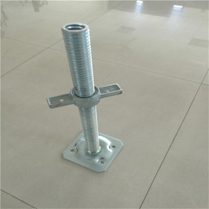 Adjustable Plate System Price Used Base Jack Scaffolding For Sale