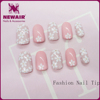 wholesale beauty supply fake fingernails nail pre design tips