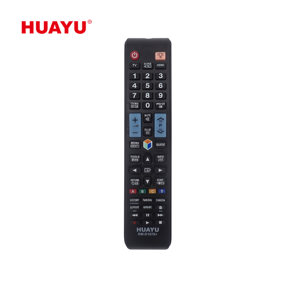 Alibaba.com / RM-D1078+ HUAYU UNIVERSAL REPLACEMENT USE FOR SAMSUNG REMOTE CONTROL LCD LED REMOTE CONTROL