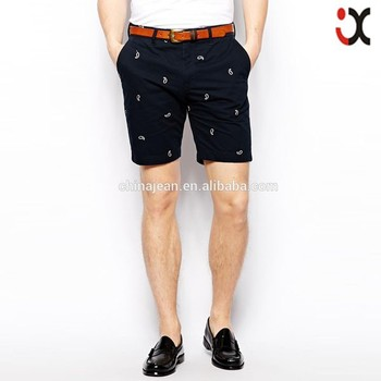 Fashion Hot Sale Pattern Design Twill Pants Mens Short Pants Jxf071 ...