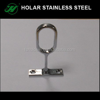 Stainless Steel Wardrobe Rod Holder,Clothes Rod Holder
