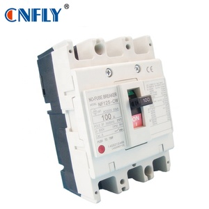 Mitsubishi Mccb NF125-CW 3p 100a moulded case circuit breaker
