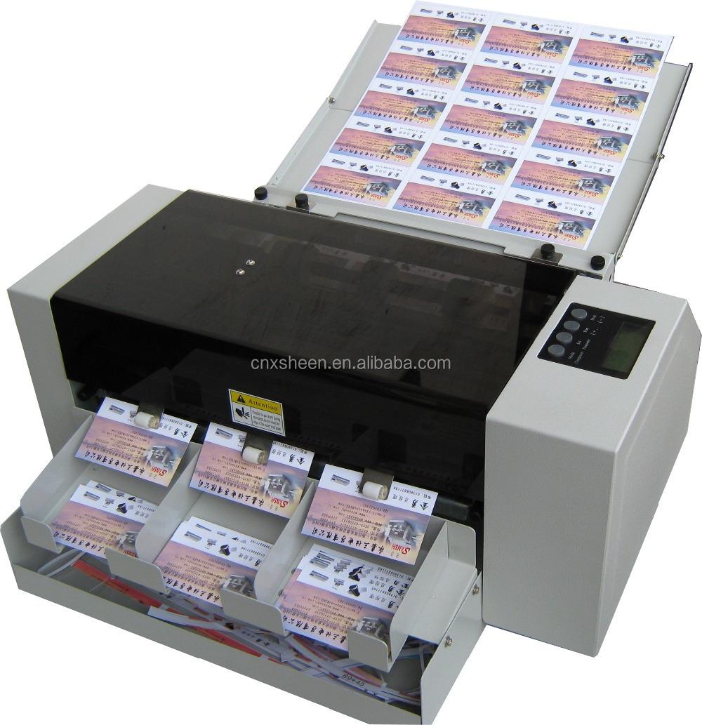 Business Card Die Cutting MachinePhoto Cutter MachineId