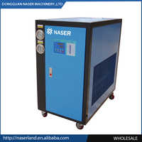Remote Control reverse cycle chiller and water chiller in industrial chiller