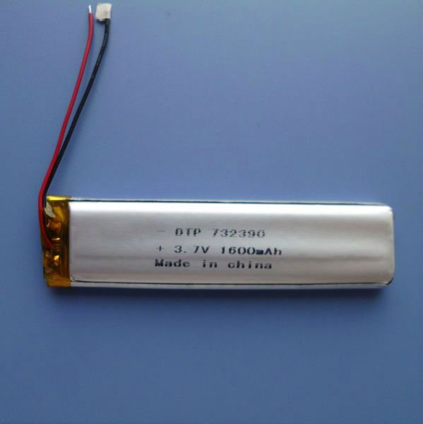 Factory supply lithium batteries for solar systems 3.7v 1600mah