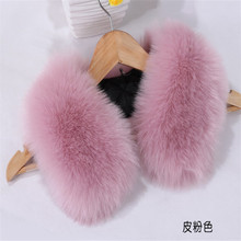 New design Faux Fox Fur Collar / Trimming / Raccoon Fur Strip For Jacket Hood