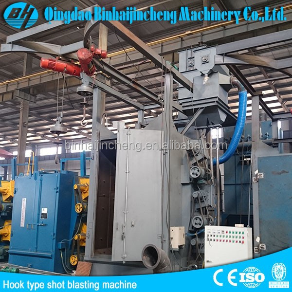 High quality Q37series double hook type shot blasting machine for sale