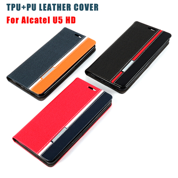 separation shoes 987cc 12505 Leather Flip Phone Case Cover For Alcatel U5 Hd With Card Slot Phone Shell  - Buy Mobile Phone Cover For Alcatel U5 Hd,Leather Flip Phone Case For ...