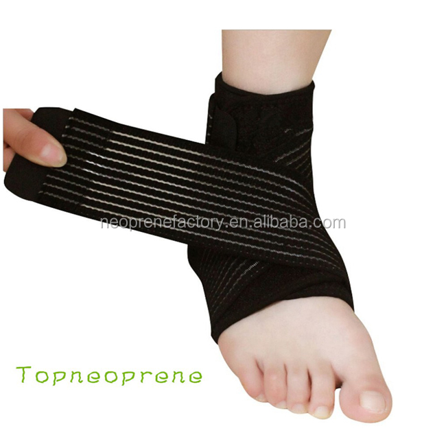 Elastic belt neoprene waterproof ankle guard pad