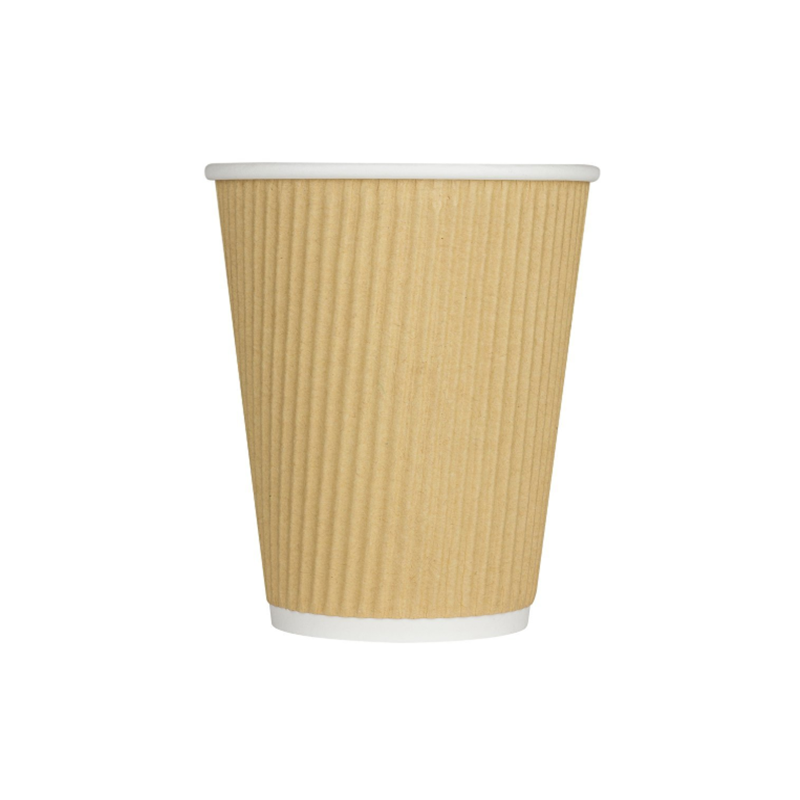 VOBAGA disposable kraft coffee paper cup