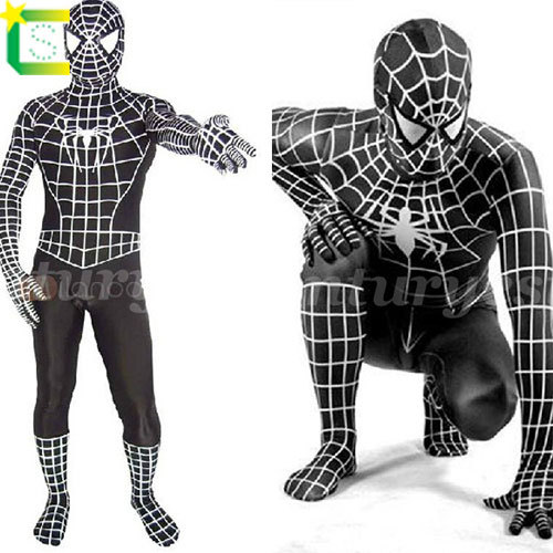 Buy 2014 new black Spiderman Costume Spandex high Elasticity Spiderman Costume for halloween party show plug size XS TO XXXL in Cheap Price on Alibaba.com  sc 1 st  Alibaba & Buy 2014 new black Spiderman Costume Spandex high Elasticity ...