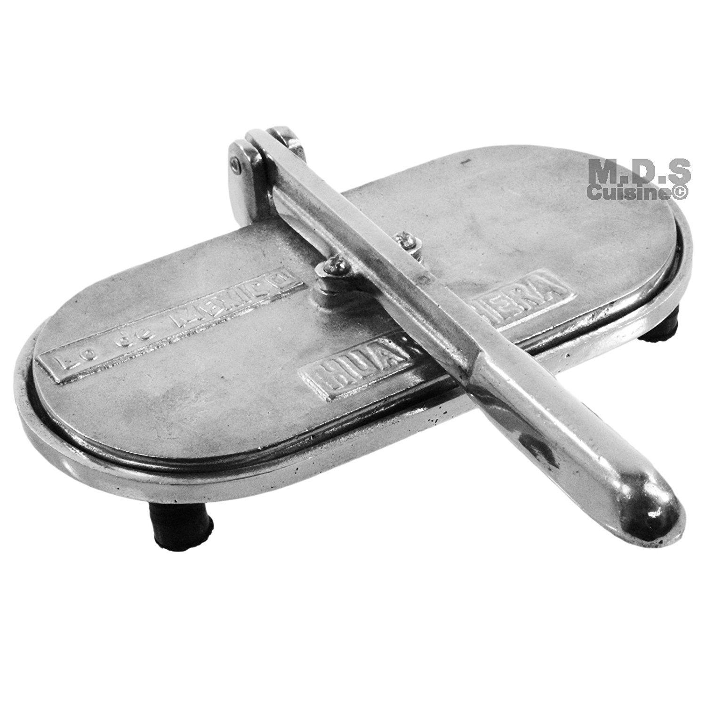 quality design 36e82 ea217 Get Quotations · Huarache Press-Maker Tortilla Authentic Huarachera Cast  Aluminum Mexican 9-inches