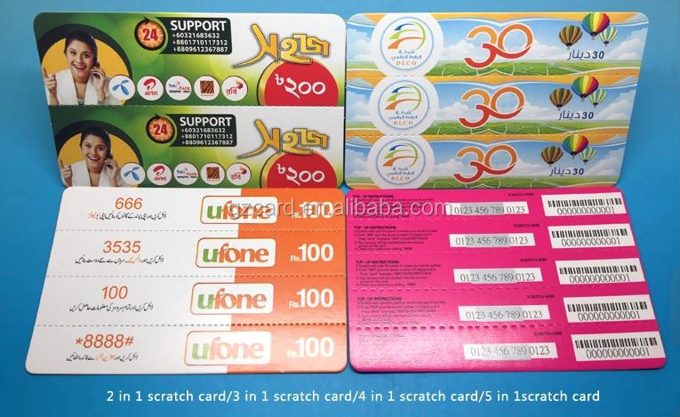 Ödül Kazınacak Kart / Piyango Bilet Tedarikçisi Kazanın / Kağıt ve Karton Kart Baskı