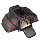 Wholesale Luxury Collapsible Small Airline Approved Portable Foldable Pet Dog Travel Carrier