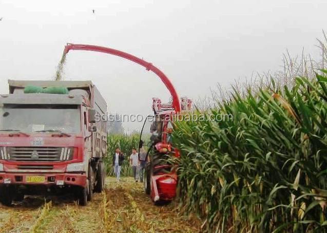 Harvesting Machine Silage Maize Harvester Sweet Corn Harvester For