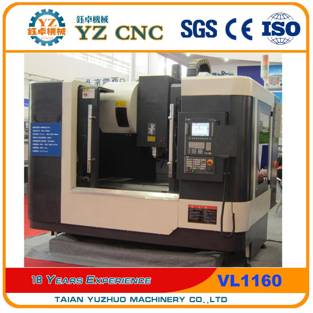 Fashionable cnc center cutting milling machine spare parts VL1160