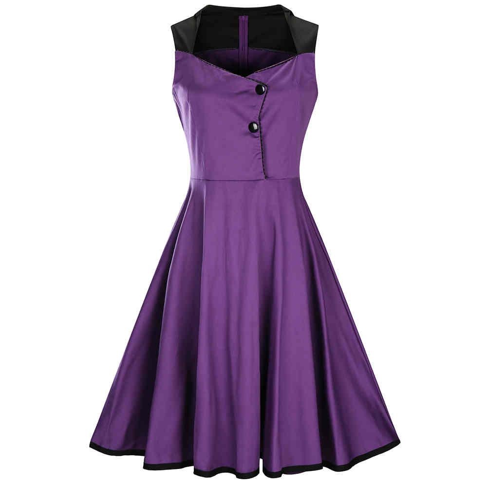 Venta al por mayor vestidos cuello cuadrado-Compre online los ...