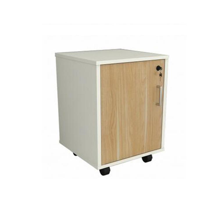 Wood Vertical One Door File Cabinet