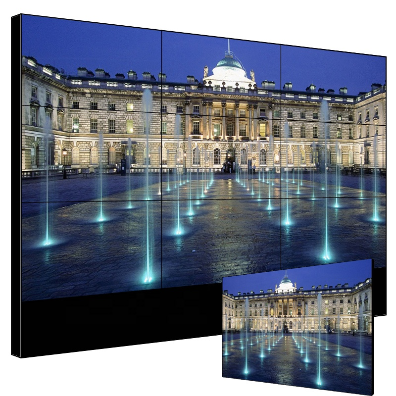 LG 55 Inch 3.5mm Bezel LCD Video Wall For TV Television Studio