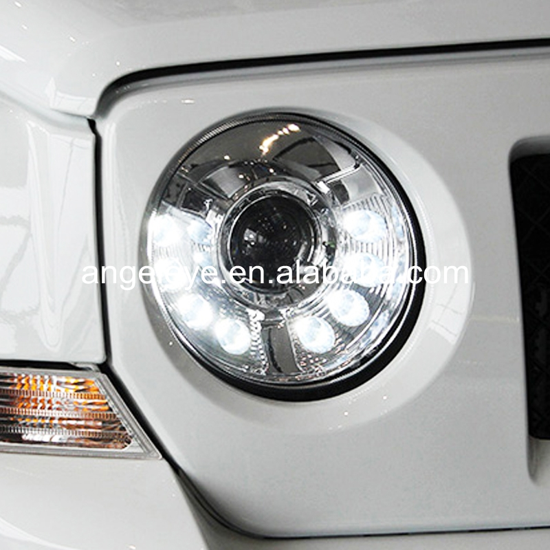 For Jeep Patriot 2011 To 2014 Year Led Headlights Led Head Lamp Chrome  Housing - Buy For Jeep Patriot,Led Headlight For Jeep Patriot,Led Head Lamp  For