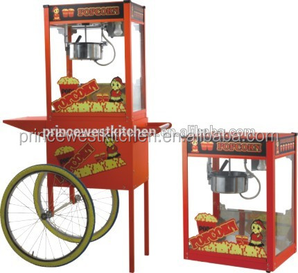 Popcorn Machine Price High Quality Popcorn Machine Commercial Automatic Caramel Making Popcorn Machine Price With Wheels