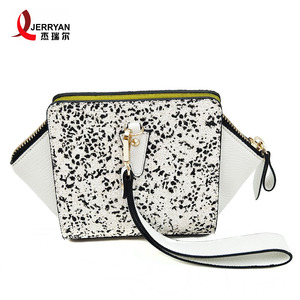 Polygon white evening bag sexy clutch bags leopard print clutch bag